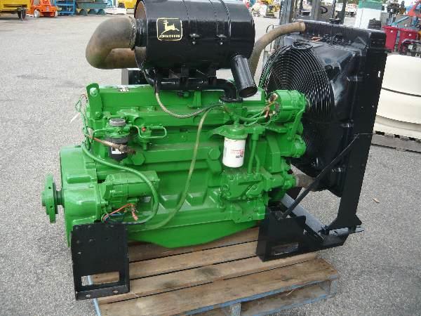 For Sale John Deere 170hp 6 Cyl Turboed Diesel Engine Pack