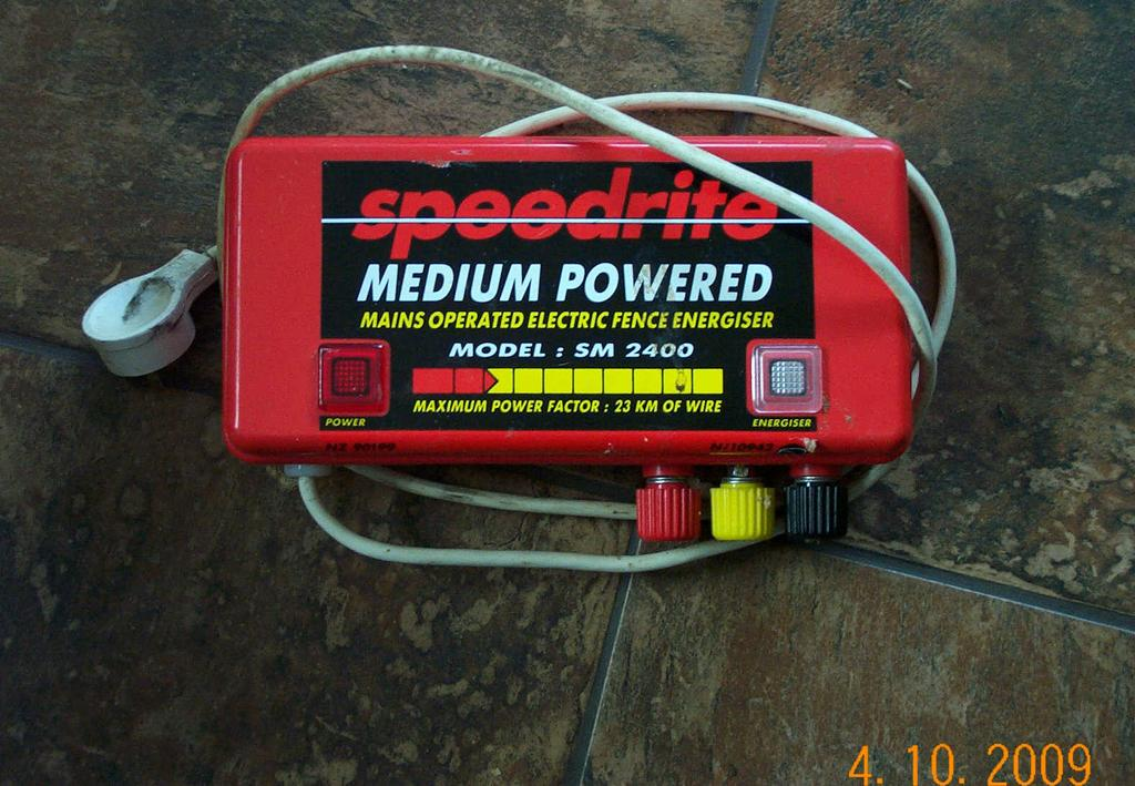 For Sale Electric Fence Energizer Speedrite 2400