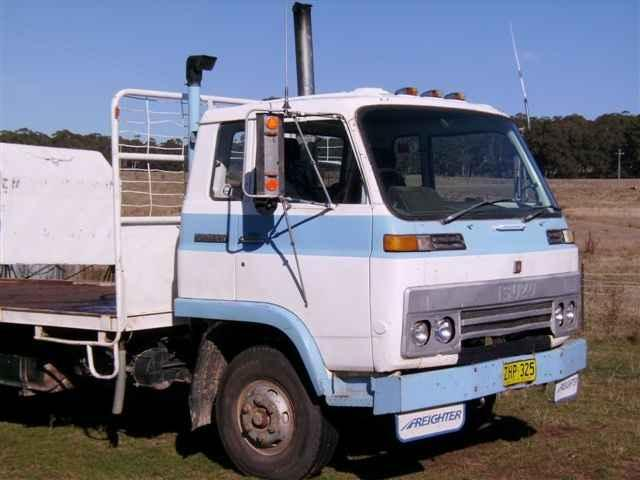 for sale isuzu truck diesel 1980. Black Bedroom Furniture Sets. Home Design Ideas