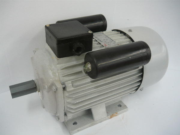 For sale never used 2hp 4 pole single phase electric motor for Single phase motors for sale