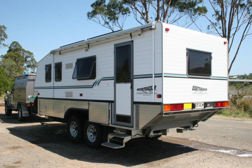 Creative  2000 Bushtracker Caravan For Sale Qld  Caravan Sales And Auctions QLD