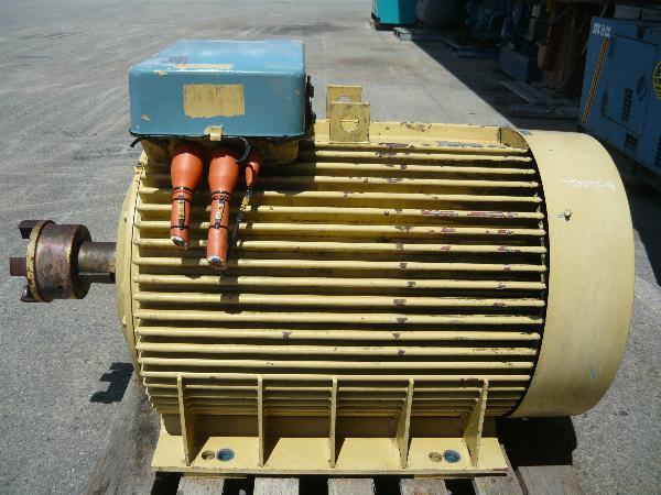 For sale abb motors 175 hp 3 phase electric motor 6 pole for 3 phase motor for sale