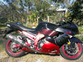 Picture(s) of KAWASAKI ZX-14 NINJA  BLACK 2008 1352 (1400) ENGIN available