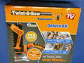 Picture(s) of TWIST A SAW DELUXE KIT AS SEEN ON TV NEW available