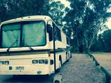 1986 scania bus, set up for free camping, sleeps 2