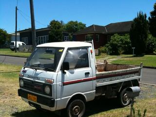 For Sale Daihatsu Hi Jet 4wd Ute With Tipper