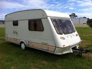 Amazing FOR SALE Poptop Caravan