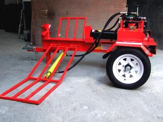 For Sale Wood Splitter Hydraulic 37t With Diesel Engine