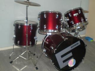 for sale enforcer drum kit. Black Bedroom Furniture Sets. Home Design Ideas