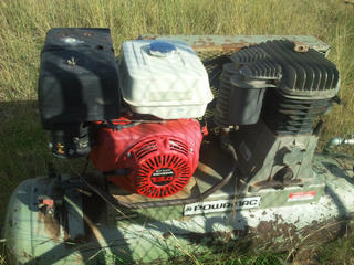 For Sale Air Compressor And Post Driver