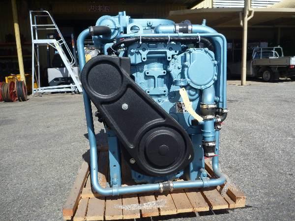 sale perkins sabre  hp  cyl marine diesel eng